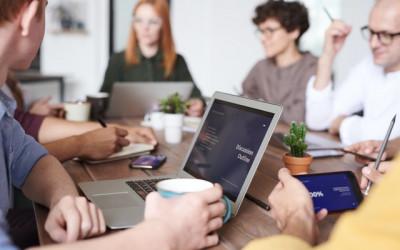 Online-Schriftdolmetschen bei Besprechungen